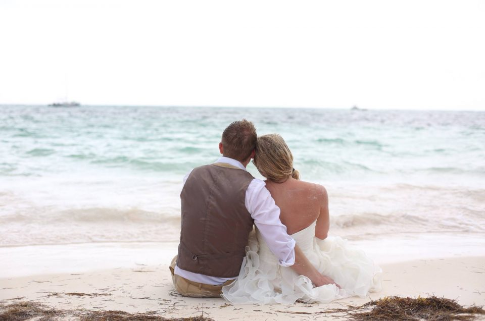 Steve & Amanda ~ Destination Wedding in Punta Cana, Now Larimar