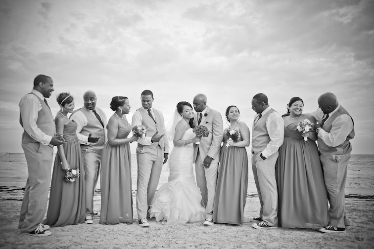 Trish and Demell ~ Destination Wedding at Now Larimar