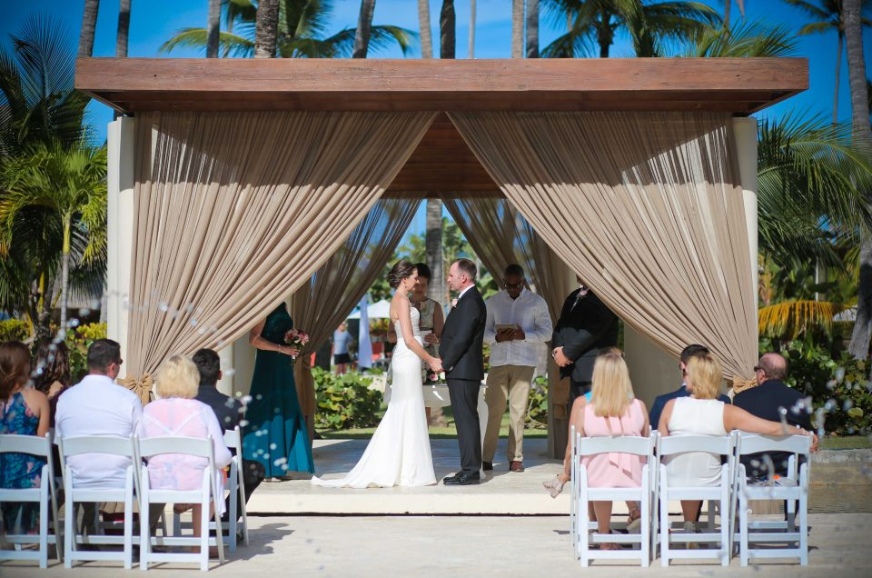 Maria and Michael ~ Destination wedding in Punta Cana @ Now Larimar
