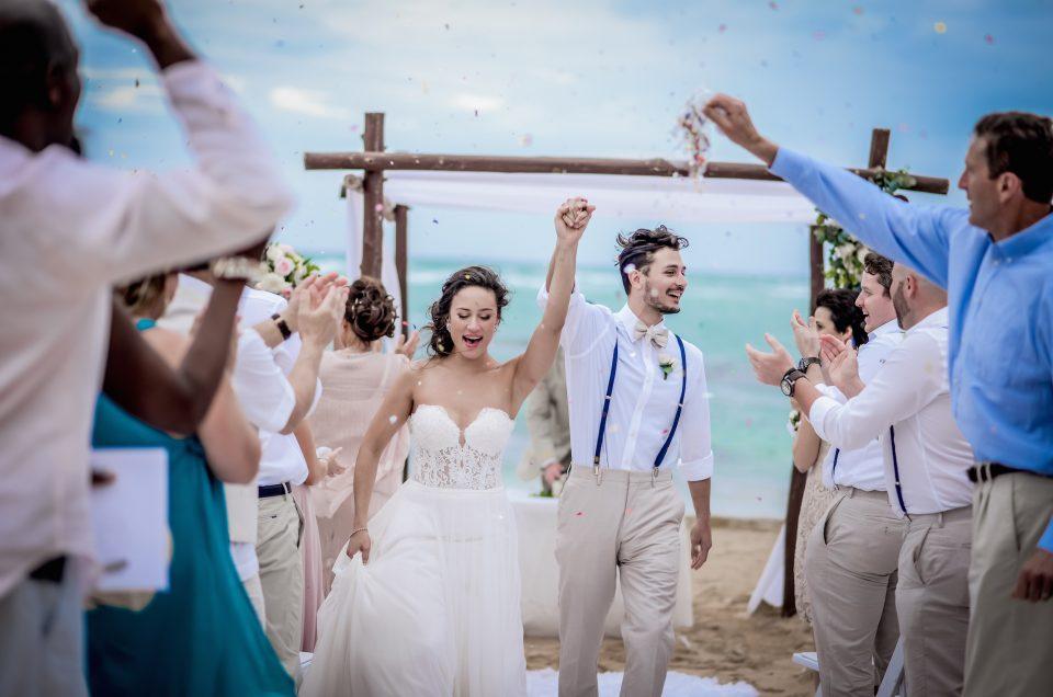 Scott and Alexandra ~ Destination wedding at Breathless Resort