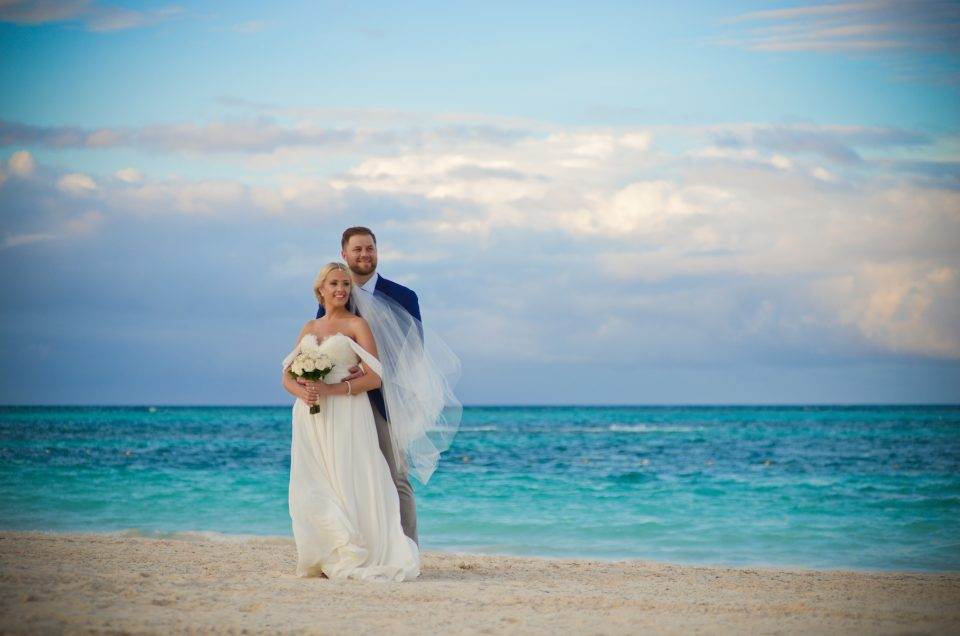Margaret & Bryan  ~ Destination Wedding at Now Larimar, Punta Cana