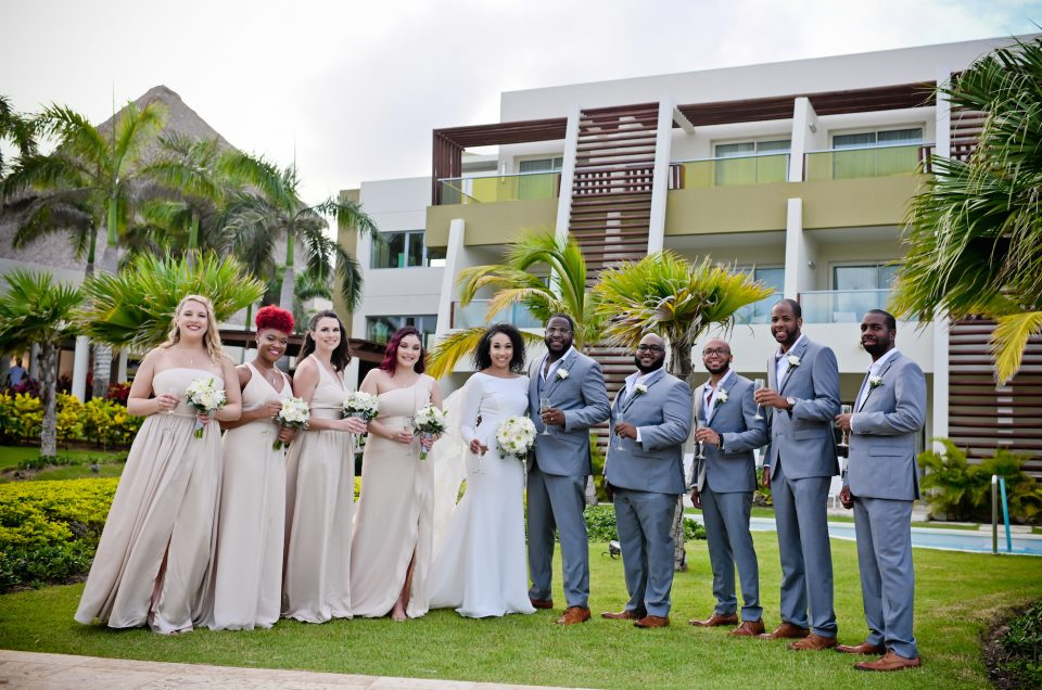Nicole  & Arsenio's wedding at Now Onyx, Punta Cana