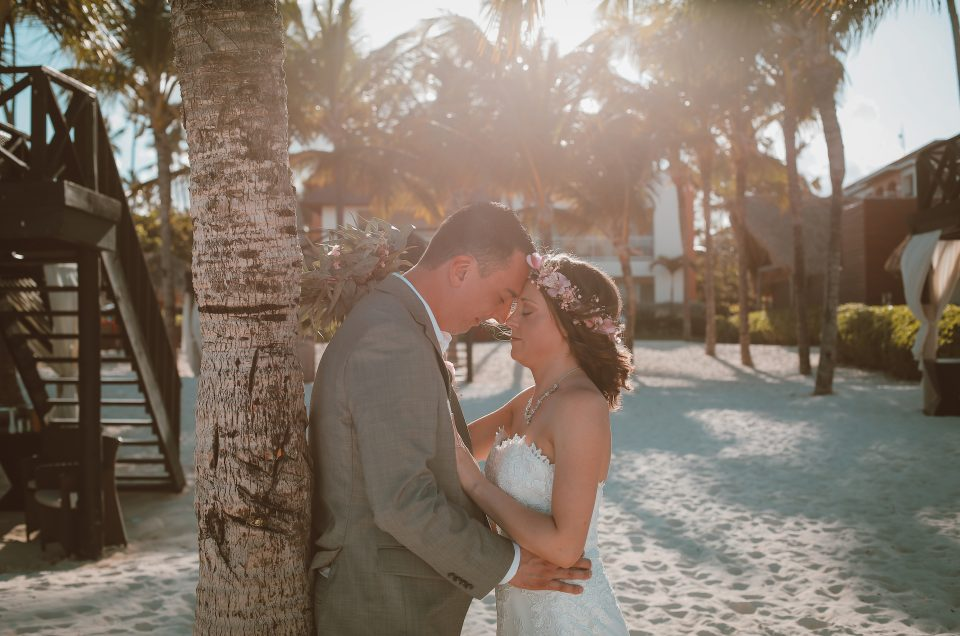 Destination Wedding at NOW Larimar – Candace & Vincent