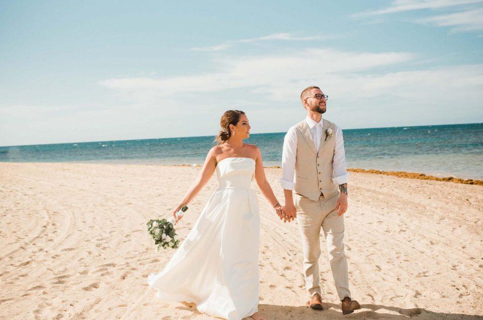 Sophie & Rocky Beach Destination Wedding