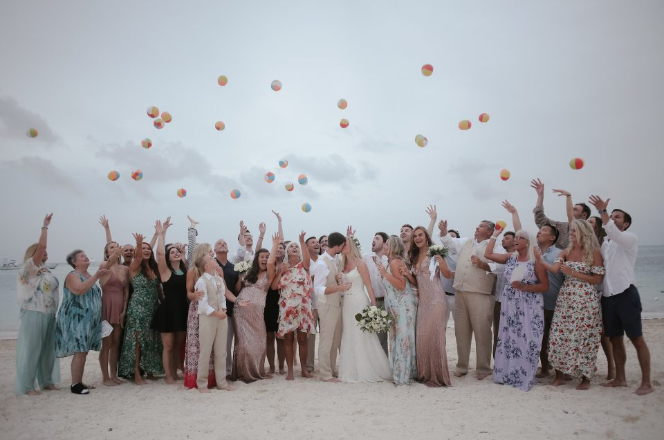 Caitlin & David, Now Larimar, Punta Cana, Wedding